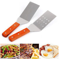 BE_ Durable Stainless Steel Flat Slice Steak Frying Spatula Shovel Cooking Tool