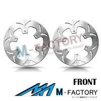 Front Brake Disc Rotor x2 Fit YAMAHA XVZ 1300 ROYAL STAR 96-07 99 00 01 02