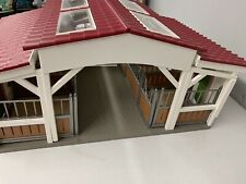 More details for schleich horse riding stable large bundle with jumps riders  & 13 horses 42344