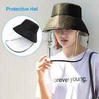 UK Unisex Protective Cap Anti-spitting Cover Outdoor Hat Splash-Proof UK STOCK