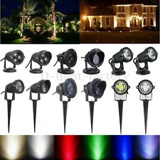 3/5/6/10/12W IP65 LED COB Paysage Spot Jardin Chemin Lumière Lamp Cour Extérieur