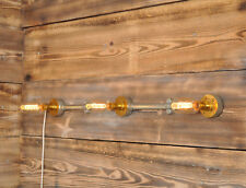 EDWARD Wall Light. 20% VAT inc. 3 light Industrial Style Vintage Retro CE MARKED