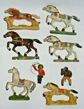 DDR Spielzeug alte DDR Masse Pferde Cowboy Kutscher Indianer Konvolut