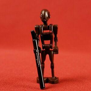 Genuine Lego 9488 Star Wars Brown Commando Droid Minifigure with Blaster