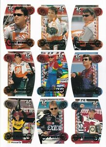 2000 Stealth FUSION EMERALD PROOF Parallel #FS15 Jeff Gordon #128/750 ONE CARD