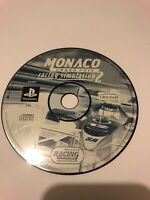 😍 jeu playstation 1 ps1 psx loose cd pal monaco grand prix racing simulation 2