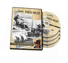 Bear Archery Fred Dvd Collection, Collectible 4 Disc Set, Hunting Footage, Hunt