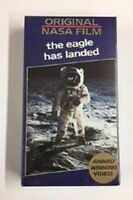 Original NASA Film -  The Eagle Has Landed -  **NEW VHS**