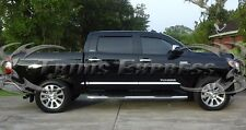 2007-2018 Toyota Tundra Crew Max Cab CrewMax Body Side Molding Trim 8Pc 1.5""