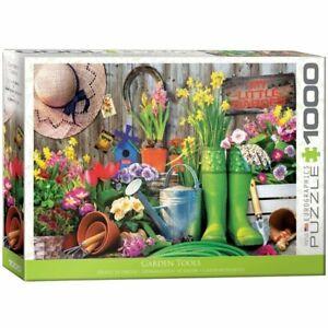 Eurographics Puzzle 1000 Piece Jigsaw puzzle - Garden Tools EG60005391