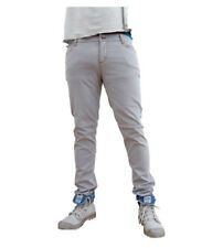 Monkee Genes Classic Slim Fit Oyster Grey Chinos