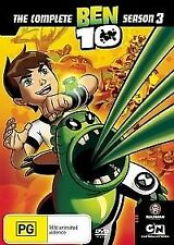 BEN 10: The Complete Season 3 (DVD, 2008, 2-Disc Set) - Region 4