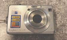 Sony Cyber-Shot DSC-W100 8.1MP Digital Camera Carl Zeiss Lens Bundle