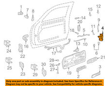 GM OEM Front Door-Door Lock Kit 16631627