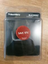 Blackberry 8520 8900 9020 + more Leather Carrying Case with buckle