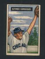 1951 Bowman #60 Chico Carrasquel GVG RC Rookie White Sox 104824
