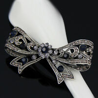 Hot Women Rhinestone flower Wedding Party Hair Clip Accessories Hairpin barrette