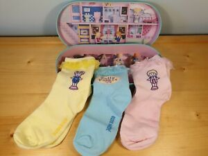 Official Polly Pocket 3 x Pairs of Women's Socks in Gift Box Mattel