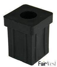 Vierkantrohr Stopfen für 30 x 30 mm Vierkantrohre, 2 Stück