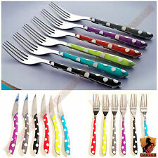 Amefa Eclat Polka Dots Finest Quality Stainless Steel Cutlery Dining 24 pcs Set