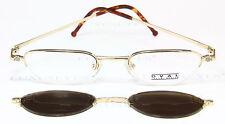 Takumi OVALE Occhiali Eyeglasses Occhiali Gafas to-578 clip Sun rare vintage Giappone