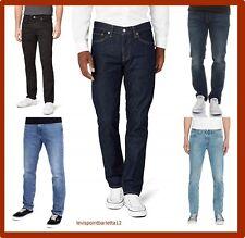 Levis 511 jeans da uomo levi's elasticizzato slim fit pantaloni denim blu cotone