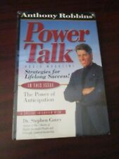 Anthony Robbins Power Talk Lifelong Success Audio Cassette Tapes Set (NEW)