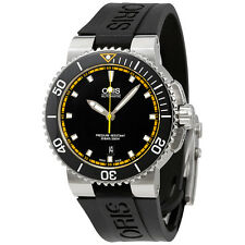 Oris Aquis Date Automatic Black Dial Mens Watch 01 733 7653 4127-07 4 26 34EB