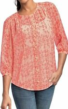 CAbi 756 Emerson Blouse Shirt Size Medium Bought Ship