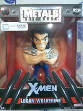 Figura Logan Wolverine Lobezno X-Men Marvel metals diecast jada toys nuevo xmen