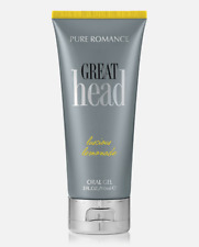 Pure Romance Great Head Luscious Lemonade Oral Gel NEW!  *FREE SHPPING*