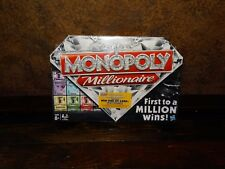 20202 NEW Monopoly Millionaire Board Game Family ~ Factory Sealed