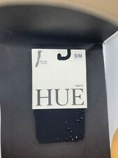 $24.00 NWT HUE Rhinestone Cluster Tights - size s/m  - Black - fits 120-170  lbs