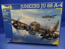 1/48 Revell (1997) :German Bomber Junkers Ju-88  A-4   (2 Decal-Optionen)