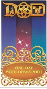 Walt Disney World Disneyland 1-Day PARK HOPPER Passport Ticket NO EXPIRATION
