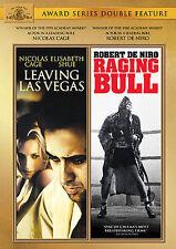 NEW 2DVD - LEAVING LAS VEGAS + RAGING BULL - NICOLAS CAGE, ROBERT DeNIRO, SHUE