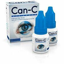 Can-C  Lubricant Eye Drops with N-Acetylcarnosine 2 X 5 ml FRESH FREE Shipping