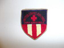 0490 WW2 ARC US  American Red Cross CBI Patch China Burma India R22A