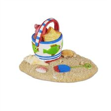 Mary Engelbreit Fairy Gardens - Beach Pail in Sand - Dollhouse Miniature