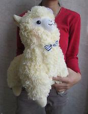 Japan Amuse Arpakasso Alpacasso Alpaca Yellow Hat 35 Plush Doll Toy Gift
