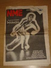 NME 1983 JAN 22 IMAGINATION STEVE LACY RUSS MEYER