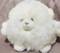"""Snowpuff Sparkle Stuffed Plush - Russ Berrie & Co - Winter Ear Muffs - 9""""  Tall"""
