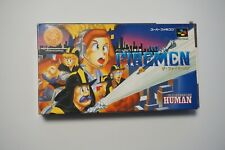 Super Famicom The Fireman boxed Japan SFC game US Seller