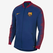 MENS NIKE BARCELONA FC ANTHEM JACKET 894361-456 LARGE FCB FOOTBALL BARCA