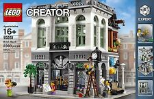 NEW! CLOSE! LEGO Creator Expert Brick Bank Building Kit (2380 Piece)