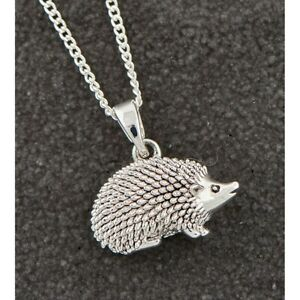 Equilibrium Silver Plated Country Hedgehog  Necklace Jewellery 209457 Boxed