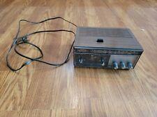 Vintage 1960s Longines Symphonette Slumber-Matic AM/FM Clock Radio LCR200 Tested