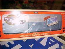 LIONEL,,,,# 29205------MICKEY MOUSE HI CUBE BOXCAR