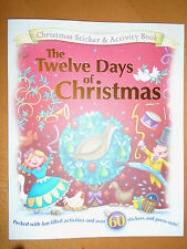 The Twelve Days Of Christmas - Christmas Sticker Activity Book - Brand New