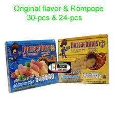 2x Borrachines La Coculense alamohaditas Original & Rompope  (Milk candy) 54-pcs